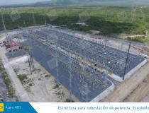 Electrica estructura para subestacion de potencia