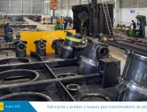 Electrico fabricacion y pruebas a tanques