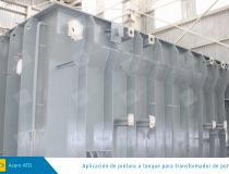 electrica aplicacion de pintura a tanque